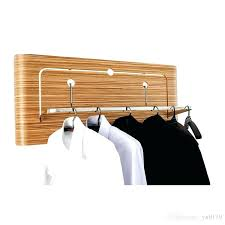 creative coat rack wall mounted use for hotel home hangers solid wooden clothes racks oak grain wall mounted coat rack