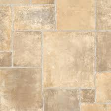 trafficmaster regina stone neutral 13 2 ft wide x your choice length residential vinyl sheet flooring