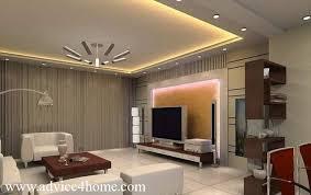 false ceiling design for living room india. modern white-gray false ceiling design in living room for india i