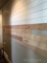 DIY Shiplap WallEasy, Cheap, and Beautiful Part 1