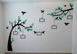 family tree picture frame wall art tree wall decal photo frame regarding family tree wall