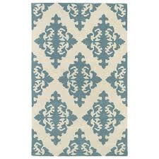 kaleen evolution spa indoor handcrafted area rug common 8 x 11 actual