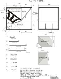 Cerwin Vega Box Design Diagram Es18bph