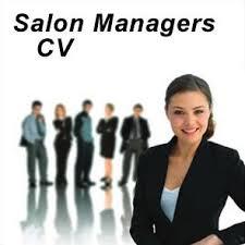 Salon Manager Salon Manager Cv