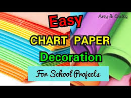 Chart Decoration Ideas For School Chart Paper Decoration Idea Chart Paper Decoration Ideas