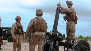 Marine Artilery Marine Artillery Unit Sent From Ship Will Remain In Iraq Military Com