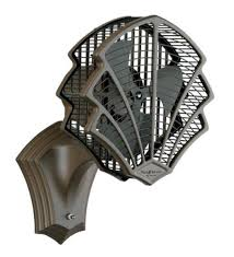 the fanimation of6320ob fitzgerald jazz style wall mount fan and table top fan