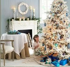 Nautical Christmas Tree - KellyMoorehead.blogspot.com