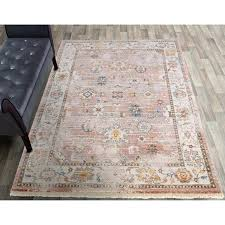 orian rugs faded damask traditional red area rug rust free