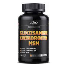 <b>Глюкозамин</b> и <b>Хондроитин</b> VP Laboratory Glucosamine ...