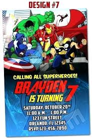 superheroes birthday party invitations avengers birthday party invitation template free meichu2017 me