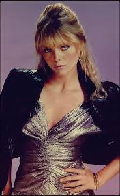 Surprised that michelle pfeiffer and christopher mcdonald got any work after this. Michelle Pfeiffer In A Promotional Photo For Grease 2 1982 Oldschoolcool