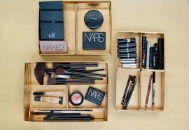 Diy makeup drawer dividers