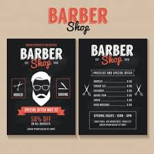 barber flyer barber vectors photos and psd files free download