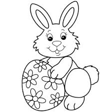 Small Picture Easter Bunny with Egg Free N Fun Easter from Oriental Trading