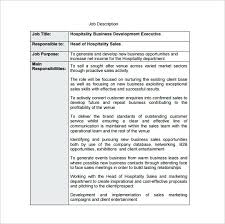 Business Roles And Responsibilities Template Development Manager Job ...