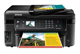 Amazon Com Epson Workforce Wf 3520 Wireless All In One Color