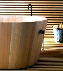 japanese style deep soaking tubs style wooden bathtub ergonomic deep soaking tub bath small size bathroom
