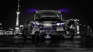 bugatti veyron tuning back crystal city car