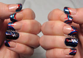 Kate's Nailing It: 4th of July nail art - then, now, and then!