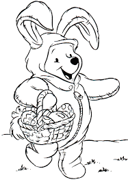 Easter Coloring Templates Top 10 Free Printable Disney Easter