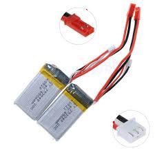 <b>2pcs</b>/<b>lot Rc</b> Lipo Battery 7.4V 850mAh 20C 2s for MJX X600 WLtoys ...