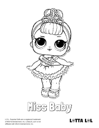 Lol little sister coloring pages lol surprise and lil sisters colouring pages get little pages sister coloring lol. Miss Baby Coloring Page Lotta Lol Animal Coloring Pages Coloring Pages For Boys Cartoon Coloring Pages