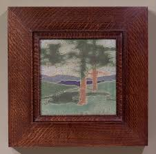 Decorative Tile Frames Framing Arts and Crafts Tiles Holton Studio FrameMakers ARTS 11