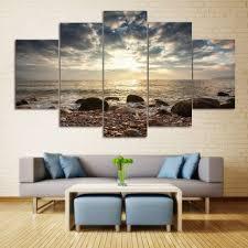 interior sea stone beach split canvas prints wallt paintings colormix buy online india nz large buy on wall art prints nz with sea stone beach split canvas prints wallt paintings colormix buy