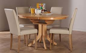 hudson city round extending dining set ivory only 299