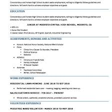 High School Student Resume Mesmerizing High School Resume Resumes Perfect For High School Students Within
