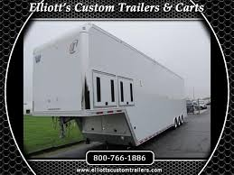 2019 intech trailers icon 44 sprint car trailer