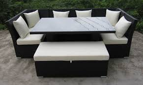 amazing outdoor dining sofa set jamaican outdoor wicker patio furniture sofa and dining set
