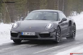 porsche 911 turbo s interior. fresh porsche 911 turbo facelift spy shots reveal updated interior s