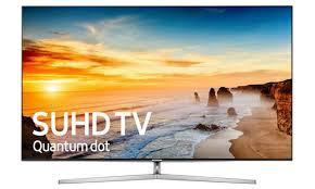 samsung tv 2017. teknologi titik kuantum 4k led tv menjadikan televisi ini memiliki sesuatu yang istimewa. sistem operasional ditanamkan pada samsung ks9000 adalah tv 2017
