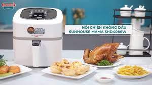 Sunhouse Group - REVIEW NỒI CHIÊN KHÔNG DẦU 4.5L SUNHOUSE MAMA SHD4086W