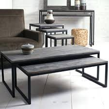 nesting end tables. Table Set For Living Room Nesting Coffee Tables Of 2 Contemporary Up End