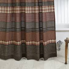 Primitive Curtains For Kitchen Country Shower Curtains Country Bathroom