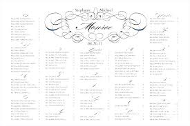 Table Seating Chart Template Free Table Seating Template