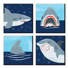 11 inches wall art shark viewing week