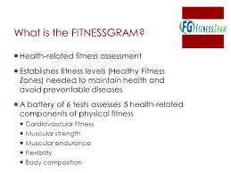 Fitnessgram Healthy Fitness Zone Chart 2018 Fitnessgram Winter Training Ppt Video Online Download
