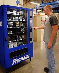 Fastenal Vending Machine Extraordinary Fastenal Vending Machines Dispense Workrelated Items Local News