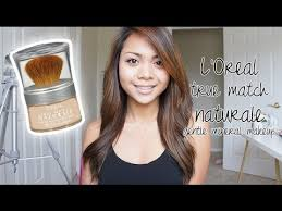 first impression l oreal true match naturale gentle mineral makeup