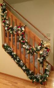 132 best Christmas - Staircase Decorations images on Pinterest | Change,  Christmas lights and Curtains