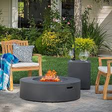 propane fire ring. Metal Fire Pit Cover For Round Ring Lovely Shop Santos Outdoor Circular Propane Table With Tank Holder
