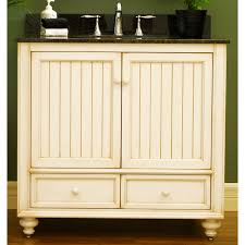 Bathroom Sink Furniture Cabinet Beach Cottage Cabinets Cottage Style 36 Wood Bathroom