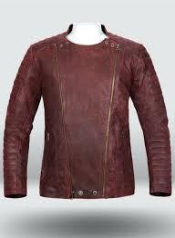 women vintage leather jacket dark red womens jackets uk