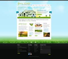 Template #5 - Real Estate Website