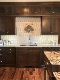 Creativity Kitchens With Brown Cabinets Great Contrast In This Kitchen Warm To Ideas