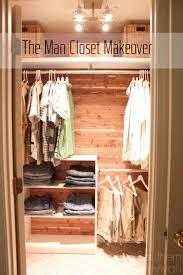 Man Closet Makeover